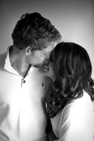 Studio engagement session in Mount Pleasant