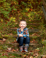 Fall outdoor children's session